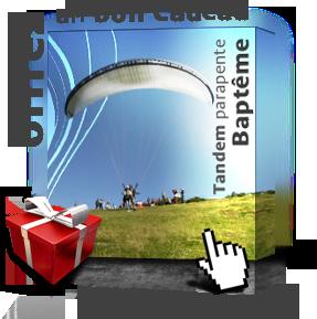 Offrir un bon cadeau de baptême de parapente en Ariège