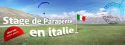 Stage parapente à Castelluccio (Italie) du 23/09/2017 au 1/10/2017
