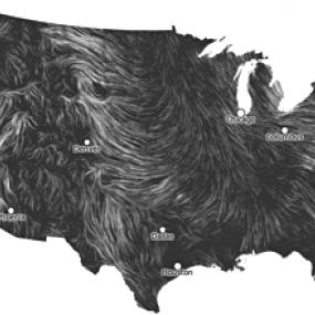 Carte des vents
