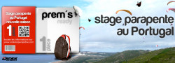 Stage parapente au Portugal du 8 au 17 avril 2017