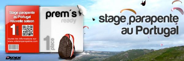Stage parapente au Portugal du 6 AVRIL au 13 Avril 2020