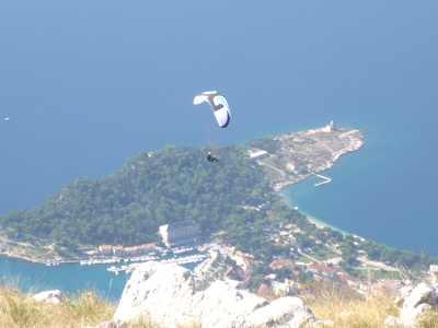 Stage parapente en Croatie du 01/07 au 09/07/2017